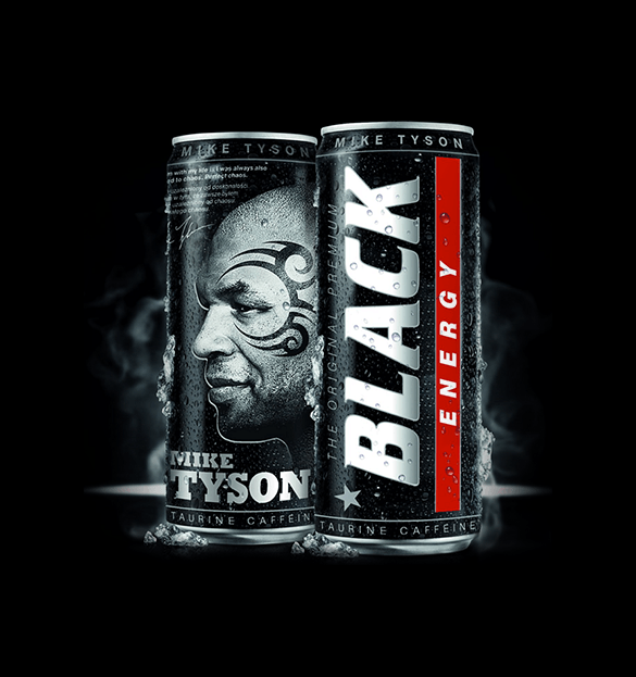 Black Energy Drink - MORE THAN POWER 1